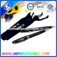 2014 13.5cm promotional plastic gift ball pen /pens to customizable
