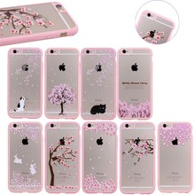 Fashionable Flower Pattern PC+TPU Bumper Back Case for iPhone 5/5S, in Stock