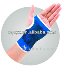 Blue color protecting elastic wrist palm support