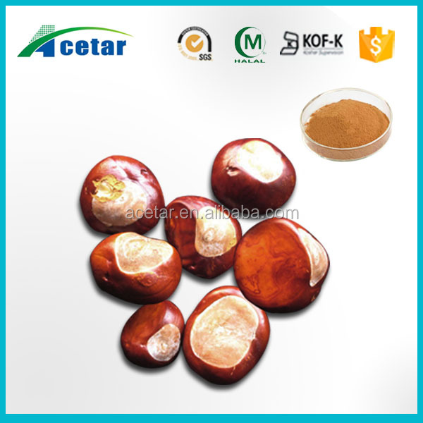 free samples horse chestnut leaf miner extract powder 20% aescin