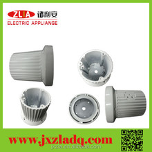 High quality round aluminum extruded led downlight heatsink