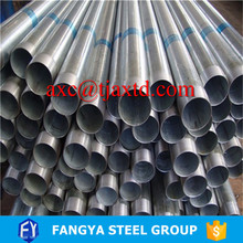 Galvanized Pipes ! 4.5inch galvanized steel pipe pre gi steel pipe for green house with low price