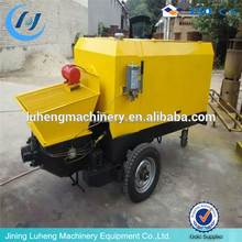 Lightweight concrete pumps and mini electric hydraulic concrete pump with stainless steel material
