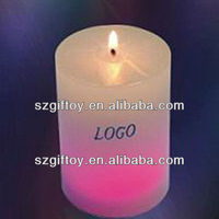 Color Changeable 100% paraffin wax led candles