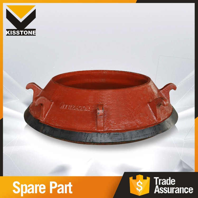 High precision cone crusher parts mantle concave