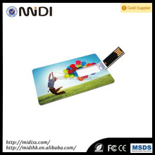 Custom Usb Stick Cover 8gb plastic credit card usb flash drive with logo