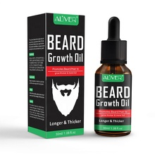 ALIVER Natural Moisturizing Gentleman Mustache Grooming Beard Growth Oil