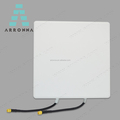 Dual Polarized 2x2 MIMO 2.4g 5.8g wimax panel antenna