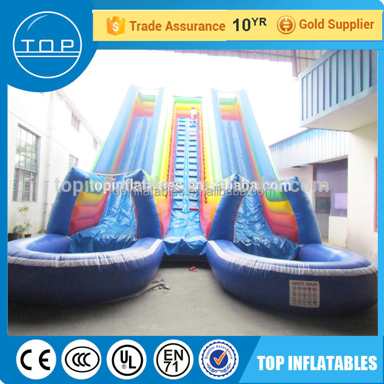 TOP quality used slides sale slip n giant inflatable water slide for adult with great price