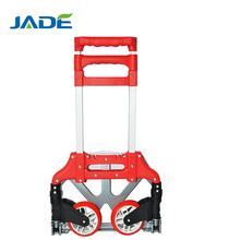 Portable foldable luggage hand trolley/Aluminum folding luggage hand trolley/Lightweight Aluminium Foldable hand