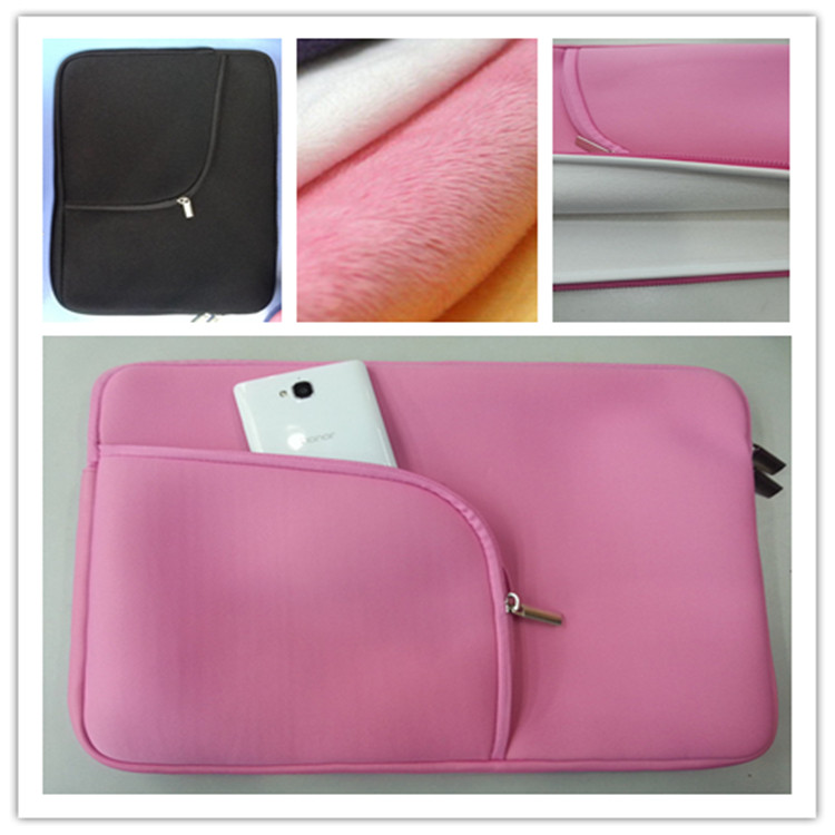 "Notebook Laptop bag 13"" inch neoprene ultra thin zipper bag computer protective sleeve"