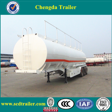 hot 3 axle small 50000 liters fuel oil tanker trailer and fuel tank semi trailer for sale