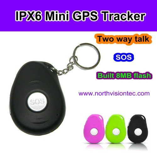 Long Battery Life Mini Key Chain GPS Tracker