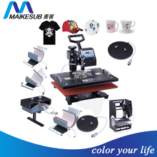 8 in 1 multifunction combo heat press machine