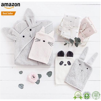 Soft cotton anti scratch winter glove baby mittens
