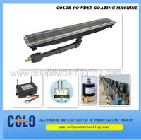 Infrared powder coating curing oven heater