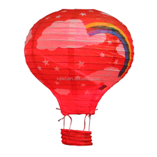 2016 New Year High Quality Cheap Rainbow Printed Chinese Floating Paper Lanterns JLS03-3