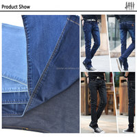 Breathable england elastic jeans fabric denim