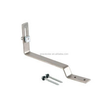 Roof Hook of Solar Panels for Slate Tile Roof Mounting Racking System