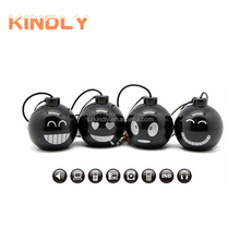 Hot selling portable mini Bomb Mines computer speaker ball mobile phone speaker