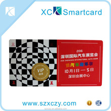 Professional Supplier Metal / Oracle Paper / Plastic / Reader Head Magnetic Stripe Exhibition Identity Card