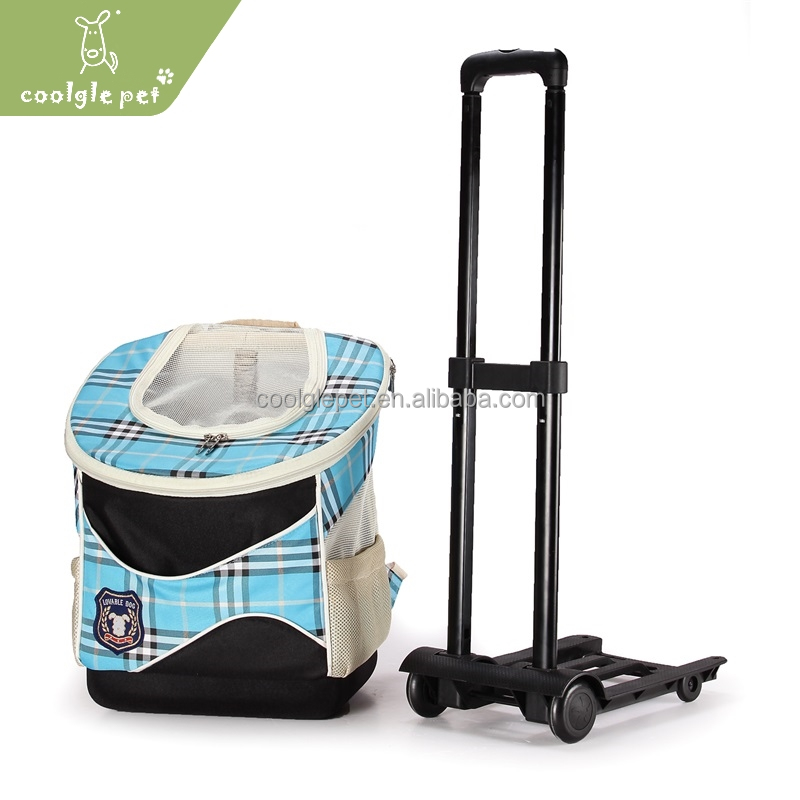 Wholesale Multifunction Draw Bar Pet Carrier for Bike Car New Dog Backpack