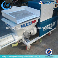 Cement Mortar Rendering Machine Plaster Machine Spraying Pump for sale in Viet Nam in Indonesia in Malaysia in China