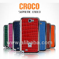 Croco Leather Phone case for iphone 5, 4(S) & samsung galaxy S3 S4 i9300 i9500 Supreme Croco