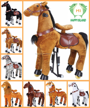 Indoor playground children funny riding mechanical horse toys for sale