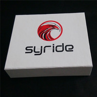 CMYK printed logo rigid paper box, magnet book shape box from professional supplier called Zeal-X Packing