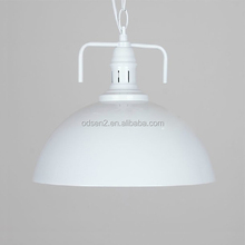 White old style industry pendant lighting
