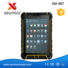 SM-907: 7'' Android IP67 Waterproof Industrial Tablet with 4G/WIFI/BT/GPS/Barcode Scanner/LF NFC UHF RFID Reader/Fingerprint