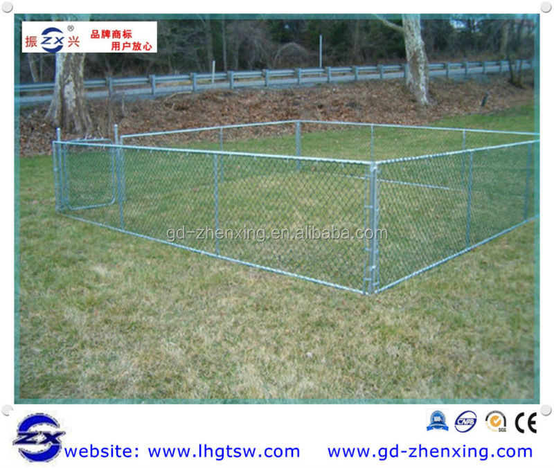 PVC coated cheap chain link fence for dog kennels, horse stall panels, chicken wire