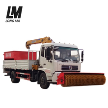 Factory price 4x2 snow removal trucks with salt spreader for melting snow