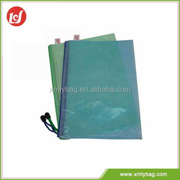 Durable stylish simplicity customized pvc pencil bag