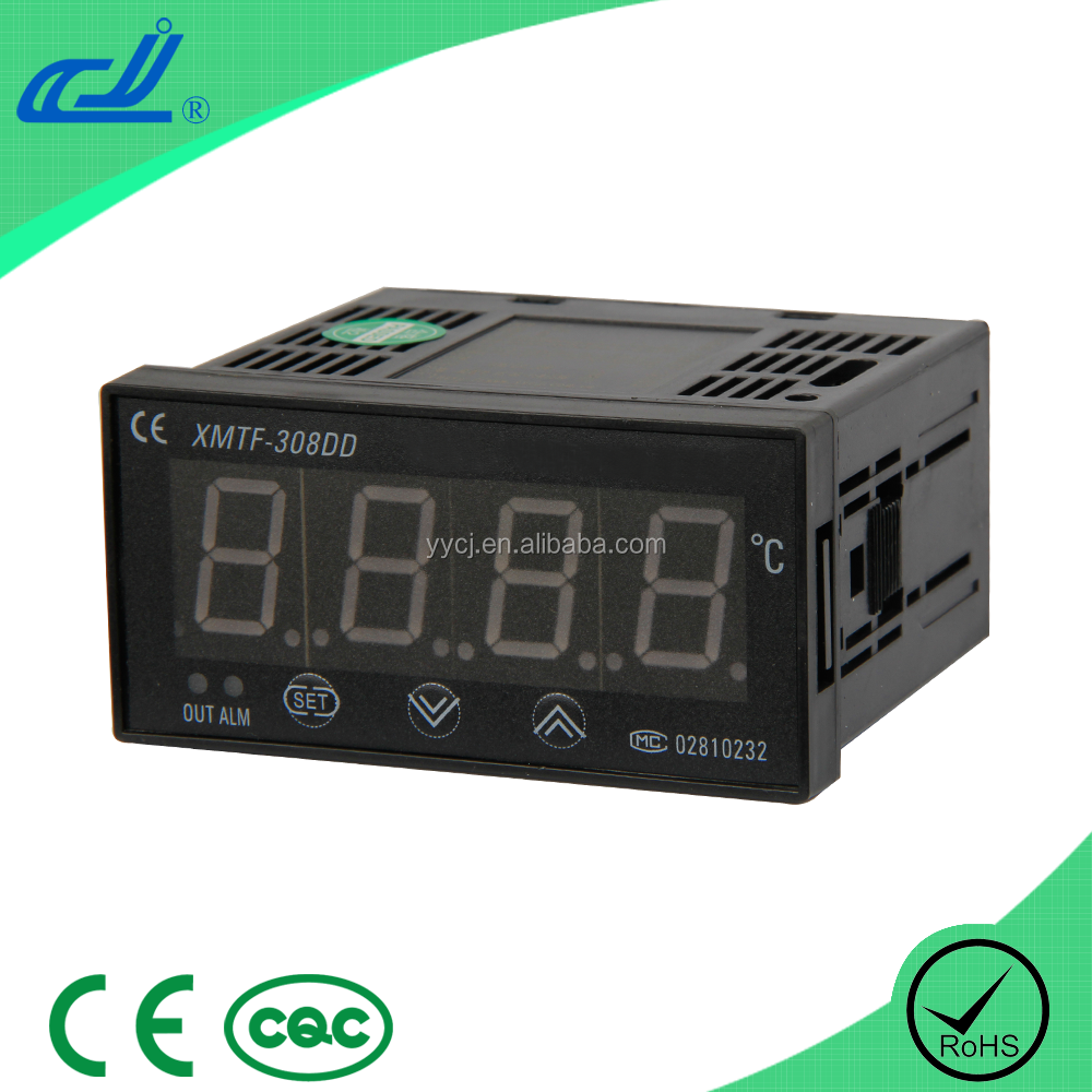 YUYAO CJ XMTF-308DD series intelligent single row 4-LED display 85-242V PID temperature controller