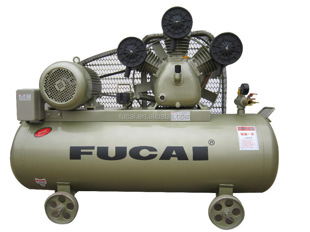 FUCAI 2016 hot product Support for industry factory Model F10008 10HP 1m3/min 8bar quality assured piston compressor