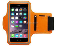 Neoprene armband case for iphone6 plus mobile phone arm band for samsung