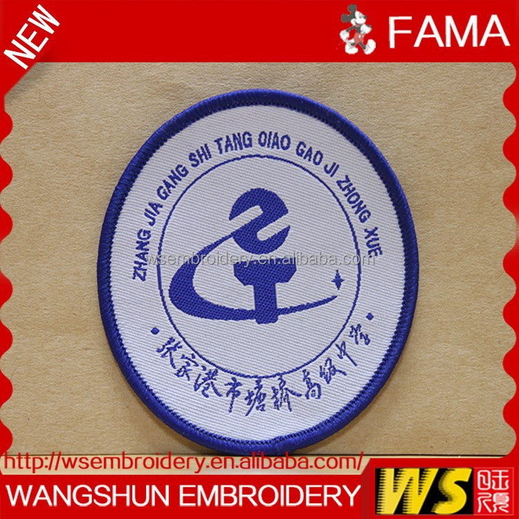 Customized New Handwork Machine Woven Badge