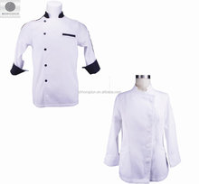 OEM customized professional modern hotel uniforms waiter cooking kitchen chef uniforms