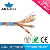 S/FTP CAT7 shielded twisted pairs network cable cat 7 ethernet