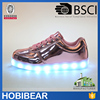 Hobibear high quality led light up kids shoes women