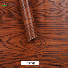Self adhesive PVC wood grain vinyl decorative film for furniture cover