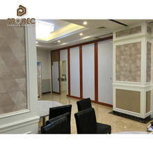 Hot sale hotel meeting room sliding partition wall folding partition wall