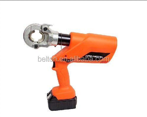 HC-300 Cordless Hydraulic Crimping Tool used plumbing tools portable hose press crimping machine