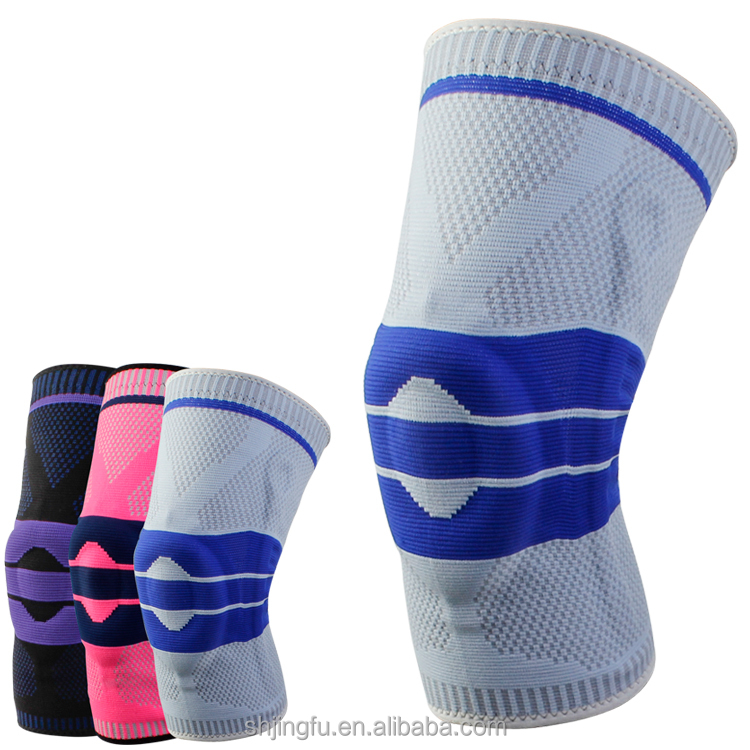 Custom volleyball basketball silicone motorcycle knee protector pads