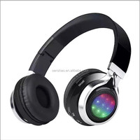 Wholesale Stereo Audio Glowing Headphones Sports
