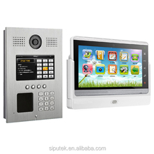 "7"" Color TFT LCD home automation system video door phone with wifi touch screen Android system"