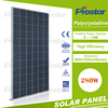 TUV IEC certified 280wp poly solar panel from China for power plant Monocrystalline Silicon Solar Panel