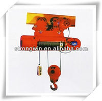 5 ton single beam overhead traveling crane hoist
